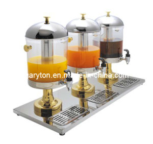 Hotel/Restaurant Juice Dispenser for Keeping Juice (GRT-ZCF303B) with 3 Tanks pictures & photos