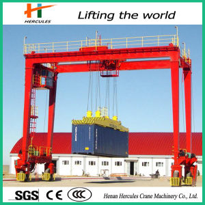 Heavy Duty Double Girder Gantry Crane for Construction pictures & photos