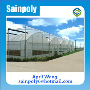 Low Cost Plastic Film Greenhouse for Commercial Sales pictures & photos