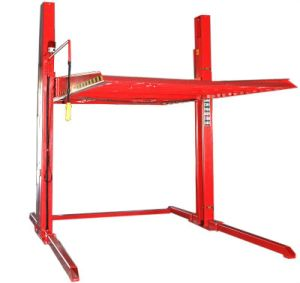 Two Post Parking Lift Auto Parts Lifting Garage Equipment
