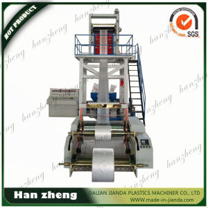 H Speed PE Film Blowing Machine with Semi-Auto Roller Changing System Sjm-Z40-2-850