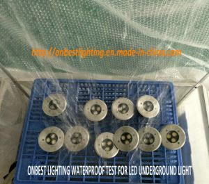 Mini Outdoor Light 3W LED Underground Light in IP67 pictures & photos