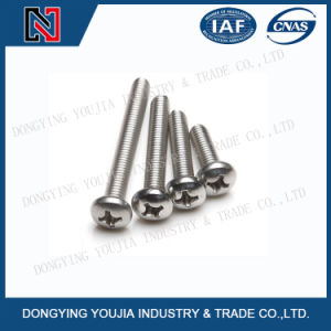 Yb818 Stainless Steel Cross Recessed Pan Head Screws pictures & photos