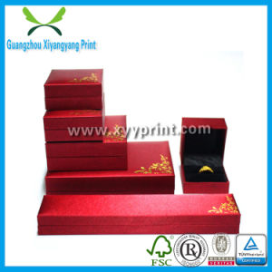 Custom Paper Leather Wooden Jewelry Packaging Box of Ring Watch Necklace Storage Box Case pictures & photos