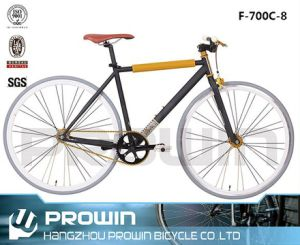 700c Steel Fixed Gear Bicycle (F-700C-8)