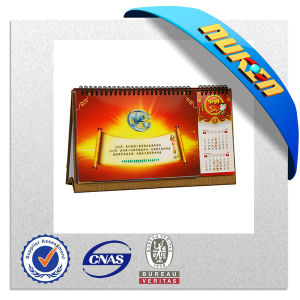 Promotional Offset Printing 3D Table Calendar pictures & photos
