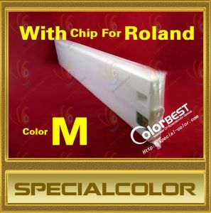 Compatible Solvent Ink Cartridge with Chip for Roland Printer pictures & photos