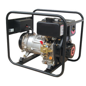 5.0 kVA Portable Diesel Generator Set (DG6500E) pictures & photos