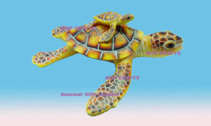 Polyresin ocean turtle crafts, Turtle gifts decor pictures & photos