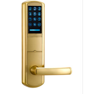 High Security ID System Smart Door Lock Electronic Password Door Lock with RFID Card pictures & photos