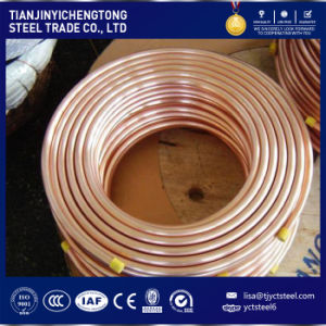 Pancake Coil Copper Tube / Red Copper Pipe / Copper Tubing C1100 Price Per Kg pictures & photos