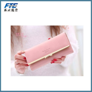 High Quality Leather Lady Purse Credit Card Purse pictures & photos