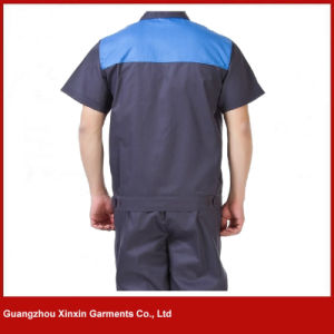 Custom Made Short Sleeve Working Uniform for Summer (W249) pictures & photos