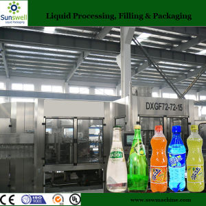 New Type of 3 in 1 Automatic Carbonated Beverage Pilot Plant pictures & photos
