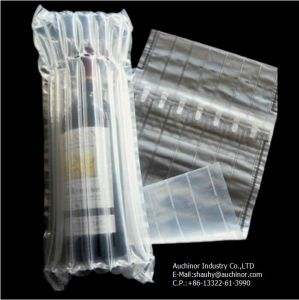 High Quality Bubble Cushion Bag Wine Bottle Air Column Packaging, Air Filled Bags Packaging pictures & photos