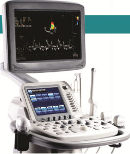 Med-Du-S20 Powerful Trolley Color Doppler 3D 4D Ultrasound Machine pictures & photos