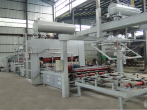 Manual Saving Automatic Production Line of Board Hot Press Short Cycle Lamination Hot Press pictures & photos