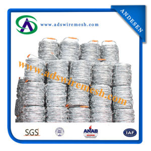 High Quality Easy Hand Galvanized Barbed Wire pictures & photos