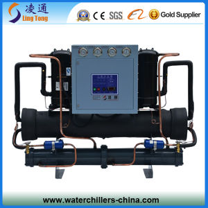 Open Type SANYO Compressor Water Cooled Industrial Chiller / Water Cooled Scroll Chiller pictures & photos