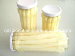 2015 New Crop Canned White Asparagus in Glass Jar (BRC, FDA, HACCP, ISO) pictures & photos