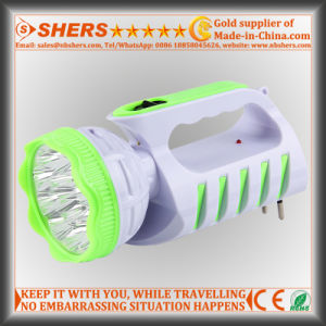 Rechargeable 9 LED Torch with 12 LED Desk Lamp (SH-1955) pictures & photos