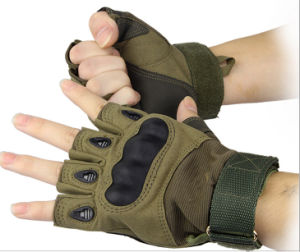 Outdoor Camping Protective Gloves High-Quality Mountaineering Gloves pictures & photos