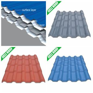 Corrugated Fiberglass Roofing Sheet Royal 720 pictures & photos
