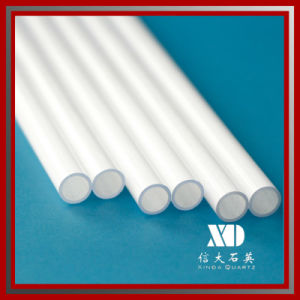 Milky Tube Quartz Pipe for Infrared Heating/Lighting/Testing