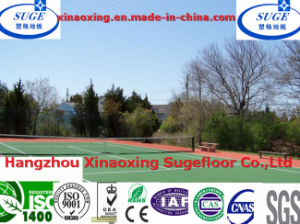 Recycled Plastic Water-Proof No Glare Tennis Court Sports Flooring System pictures & photos