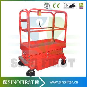 3m 4m Mini Aerial Lift Platform Mobile Work Platforms Scissor Lift pictures & photos
