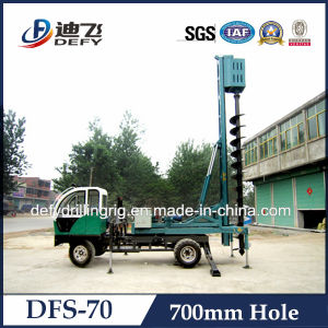 15m Truck Mounted Dfs-70 Used Construction Auger Pile Driver Drilling Machine Price pictures & photos