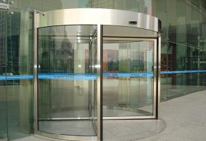 High Quality Automatic Revolving Door pictures & photos