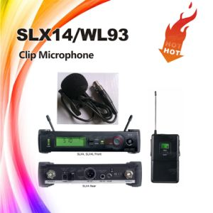 Slx14/Wl93 UHF Mini Wireless Hidden Microphone System, Lavalier Microphone pictures & photos