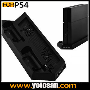 2 Cooling Fan for PS4 Playstation with Dual Controller Charger pictures & photos