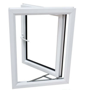 UPVC Heat Insulation Casement Window PVC Casement Window PVC Window
