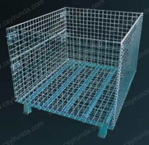 Wire Mesh Storage Cage pictures & photos