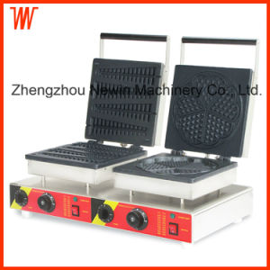 Double Head Electric Waffle Stick Maker pictures & photos