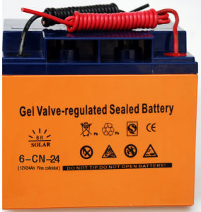 Solar Gelled/Lead-Acid Battery, Deep Cycle pictures & photos
