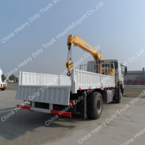 New 10 Ton Knuckle Boom Truck Mounted Crane (ZZ1167M4617) Cheap Price pictures & photos