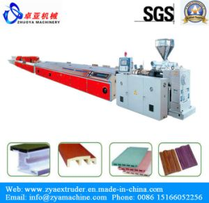 PE/PP/PVC/ABS/PA Profile Extrusion Line pictures & photos