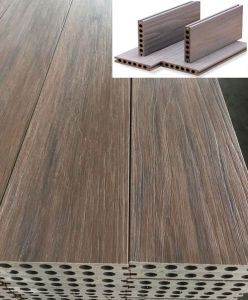 Anti-UV WPC Co-Extrusion Decking pictures & photos