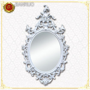 White Oval Mirror Frame (PUJK05-Q) pictures & photos