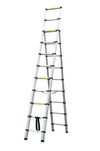 Telescopic Ladder (2.6m+3.2m) pictures & photos