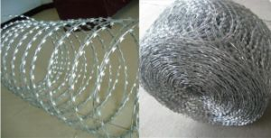 Cheapest Price Black Razor Barbed Wire pictures & photos