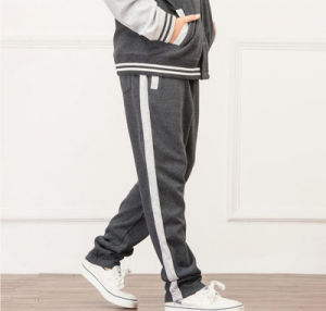 Fashion Cotton School Kids Casual Baseball Hoodie with Pants pictures & photos