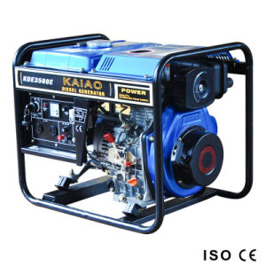 3kVA Electric Diesel Generator Set (KDE3500E) pictures & photos