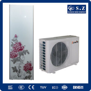 CE TUV En14511 Home Using 220V Tankless 3kw, 5kw, 7kw, 9kw R410A, Cop4.2 Max 60deg. C Split Domestic Air to Water Heat Pump Tankless pictures & photos
