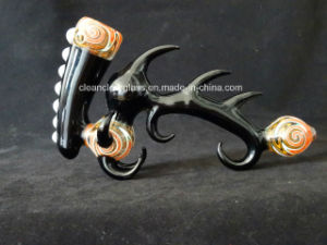 Hot Sale 420 Artistic Shaped Hand Made Glass Pipe Sherlock Glass Handpipe pictures & photos