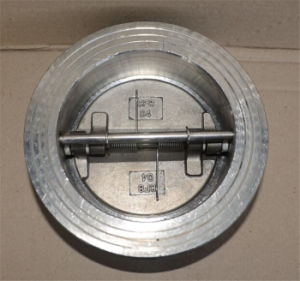 Tht Wafer Butterfly Valve Check Valve Metal Sealing pictures & photos