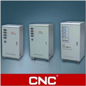 CNC Three-Phase High Accuracy Automatic AC Voltage Stabilizer (SVC/TNS) pictures & photos